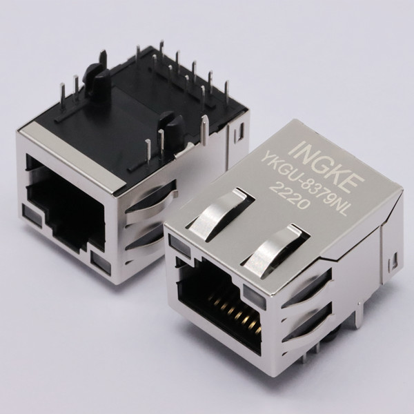 YKGU-8379NL 1000 Base-T RJ45 Magjack Connector