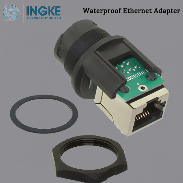 RCP-5SPFFH-TCU7001 Modular Coupler Connector,RJ45 To Jack,Ethernet Adapter IP67 Waterproof
