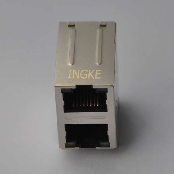YKG-81211NL 2x1 Ports Gigabit with LED RJ45 Magjack Connector