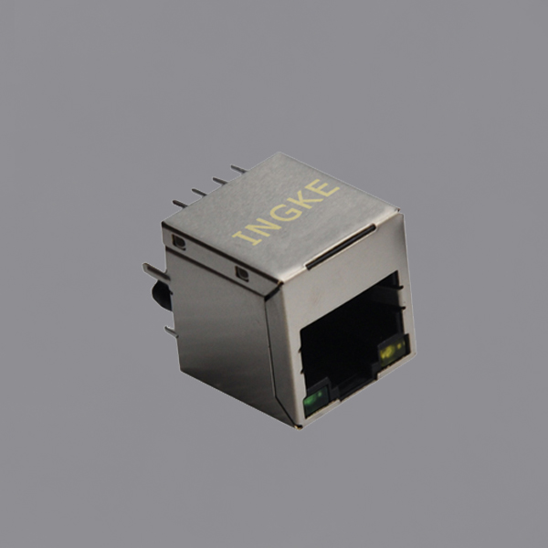 YKJV-8002NL Vertical RJ45 Ethernet Jacks with LED