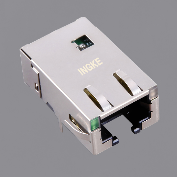 JT4-1108HL 10G Base-T RJ45 Ethernet Connector with 50µin Gold-plated