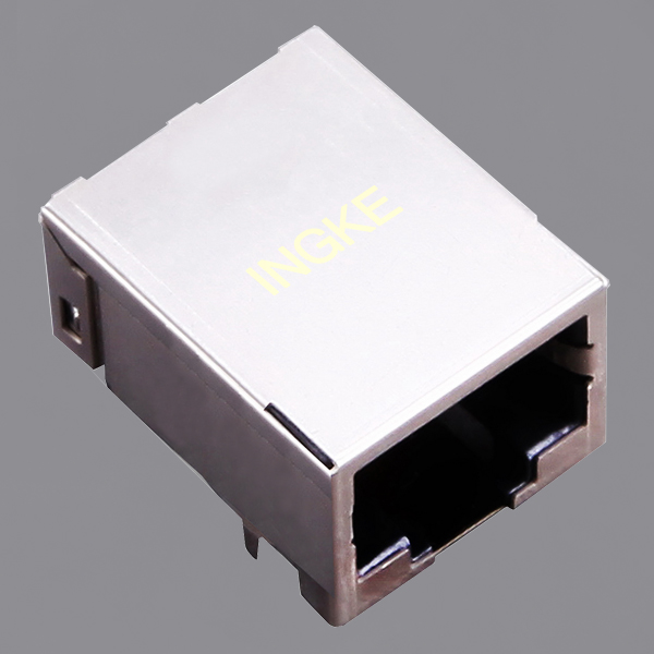 YKSD-8200NL Single Port 2.5G(2500) BASE-T RJ45 Magjack Connector