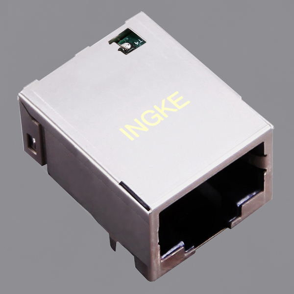 YKAD-8200NL 1x1 Tab Down 5G(5000) BASE-T RJ45 Modular Jack Connector